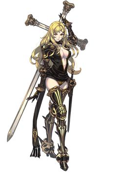 gameraddictions: Three, Four and Five concept art Drakengard 3