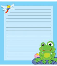 FUNky Frog Notes Notepad | Classroom décor from Carson-Dellosa