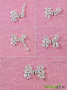 Make another half bow pattern