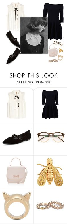 """miss"" by daysis ❤ liked on Polyvore featuring H&M, Jonathan Simkhai, Wildfox, Ted Baker, Chaumet and STELLA McCARTNEY"