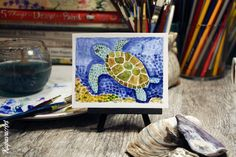 Turtle Mosaic by Kupava