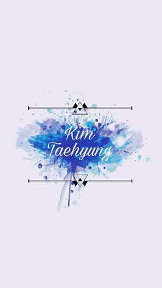 Kim taehyoung .... V.... Maviler içinde .... Bir melek sanki ....♥