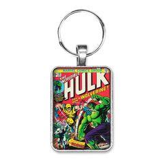 The Incredible Hulk Lanyard Keychain Bruce Avengers Marvel