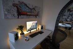 Keeping the desk cosy this winter