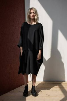 8681b3f87d7 Formal dress   Dress   Black dress   Plus size dress   Cocktail dress    Gift for her   Casual dress   Plus size clothing   Maternity dress