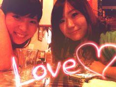 HAPPY BIRTHDAY LINA♥♥♥ 大好き大好き大好き早く戻ってきてお土産待ってる!!!!!!!!!あみ