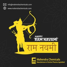 """May Lord Ram bless us with good health, wealth, and prosperity on the auspicious occasion of Ram Navami. mahendrachemicals.com family wishes you all """"Happy Ram Navami 2021"""" #Happyshreeramnavami2021 #HappyRamNavami #RamNavami #RamNavami2021 #shreeram Hindu Festivals, Indian Festivals, Happy Ram Navami, Family Wishes, Celebration Background, Power Star, Instagram Post Template, Event Themes"""