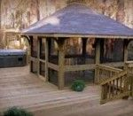 Cool Screened gazebo plans 150×150 150×131 read more on http://bjxszp.com/flooring/screened-gazebo-plans-150x150-150x131/