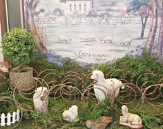 Penny's Vintage Home: Spring Sheep