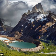 Beautiful Mount FitzRoy Patagonia, Argentina