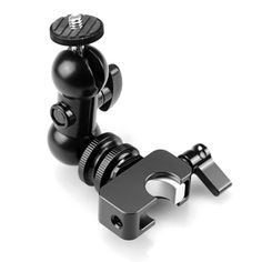 Multi-function Double Ballhead Rail Clamp V5 Quick Release 1228 - CoolLCD