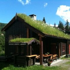 It's it beautiful!  You can stay here and fly fish!! www.flyfishingnorway.com Fly Fishing, Cabins, House Styles, Outdoor Decor, Beautiful, Home Decor, Decoration Home, Room Decor, Fly Tying