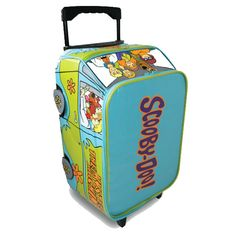 Children's Scooby Doo Van Novelty Wheeled Bag | Mystery Machine Novelty Suitcase