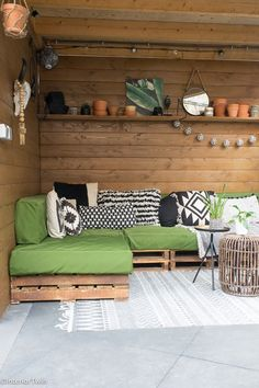 Ideas for the attractive design of the roof InteriorTwin - Ideas for the attractive design of the roof InteriorTwin - Outdoor Gazebos, Outdoor Rooms, Outdoor Sofa, Outdoor Gardens, Outdoor Living, Outdoor Decor, Small Backyard Design, Small Backyard Landscaping, Caravan Decor