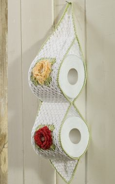Novita Oy - Neulemalli: Virkattu wc-paperiteline