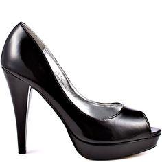 Heels I Love #heels #autumn #high_heels #color #love #shoes Isolde - Black                      JustFab