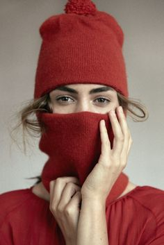 With winter creeping up fast, guard yourself from the elements with this cozy monkey hat from Loup Charmant that can be worn face-up for maximum wind protection and pulled down to sip a hot chocolate on the go. Hand-knitted in four-ply cashmere, it will keep you warm and comfy all season long.