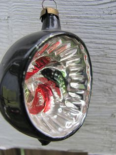 Vintage Shiny Brite Christmas Ornament by 4DogCafe on Etsy, 6.00