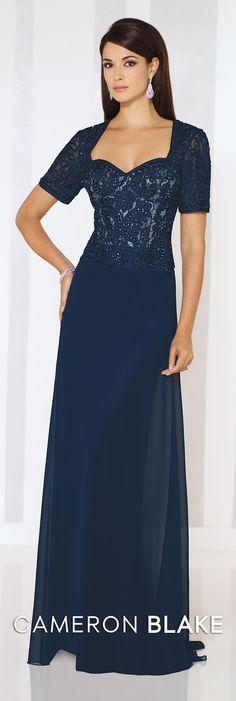 Cameron Blake Spring 2016 - Style No. 116669 #formaleveningdresses  Juliana Earrings www.davidtuteraembellish.com