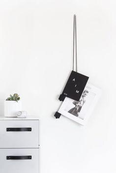 Rope magazine holder