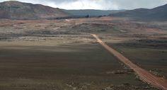 La plaine des Sables, île de La Réunion