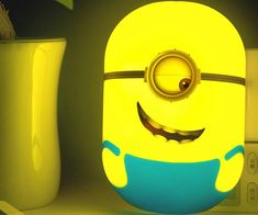 The Minions have switched over to the good side and are here to help your young ones with these novelty LED Minion nightlights. Each nighlight is shaped like a kooky and adorable Minion that emits a relaxing glow ideal for falling asleep to.