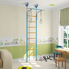 The Latest Reviews on Endurro - The Best Kids Indoor & Outdoor Playsets | This model comes with gymnastic rings, rope, Trapeze bar. Allowable weight: 220 pounds or 100 kg Nr. of steps: 8