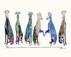 The Greyhounds by Bri Buckley
