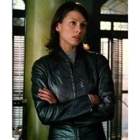 Bridget Moynahan Robot Leather Jacket