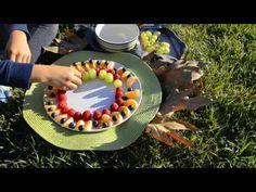 Little Girl of the Mountains Makes Mandala Fruit Salad On Her Own - YouTube