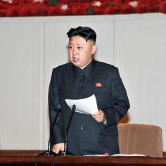 PYONGYANG (The Borowitz Report)—Kim Jong-un, Supreme Leader of the Democratic People's Republic of Korea, has issued the following letter to the citizens of the world: http://nyr.kr/XM3mnz (Photograph by KNS/AFP/Getty.)