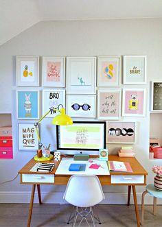 60 - Ambientes : 15 Espacios con mucho Arte en las paredes. | MONONENA Home