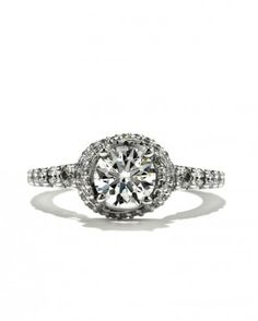 "See the ""Round-Diamond Engagement Ring from Hearts on Fire"" in our  gallery"