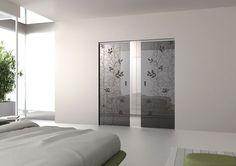 Scrigno soluzione vetro esterno muro con pinze a vista è un sistema ...
