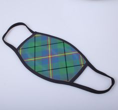 non medical face covering with Carmichael printed tartan - only from ScotClans