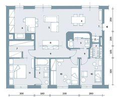Piantina casa 100 mq case unifamiliari pinterest for Planimetria casa tradizionale giapponese