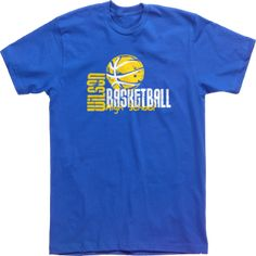 t shirt design wilson high school basketball 3085