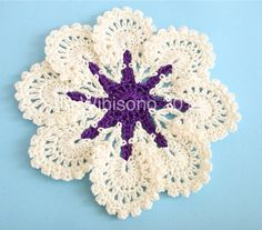 crochet rockstar: balinese cotton yarn...Vintage looking doily to make for my table.. Free pattern and tutorial!!