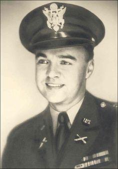 First Lieutenant Lee R. Hartell, United States Army Medal of Honor recipient near Kobangsan-ni, Korea August 27, 1951.