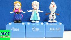 Little Taps Team Anna Elsa Olaf Takara Tomy Disney Frozen ディズニー Pop'n St...