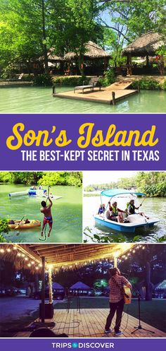 Son's Island is a Tropical Paradise Hidden in Texas