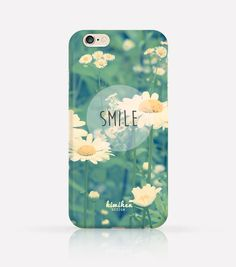 Smile Inspirational quotes iPhone Case