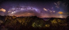 Milky Way over Peru