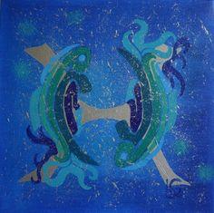 Zodiac Signs pisces - Aquarelart | Aquarelart