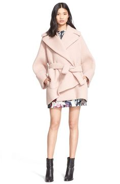 Carven Oversize Cocoon Coat available at #Nordstrom