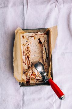 Sarah B's raw + vegan chunky monkey ice cream