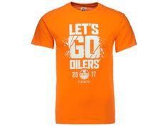 Edmonton Oilers NHL Men's Lets Go Oilers Tee