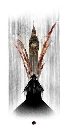 V for Vendetta - Art V Cancer Print. The orchestra