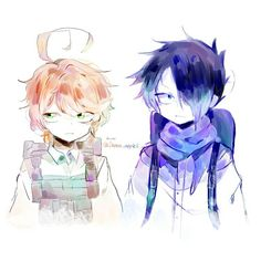 The promised Neverland Art Manga, Anime Art, Kawaii, Anime Angel, Cute Friends, Manga Games, Awesome Anime, Anime Shows, Neverland