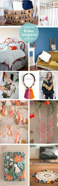 Dream catcher ideas for the girls. Crafts To Sell, Diy And Crafts, Arts And Crafts, Do It Yourself Decoration, Embroidery Designs, Super Healthy Recipes, Home And Deco, My New Room, Craft Videos